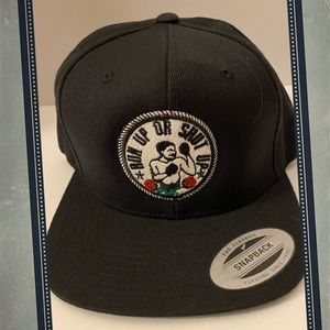 """2/$22 Read The Label """"Run Up or Shut Up"""" Cap Hat"""